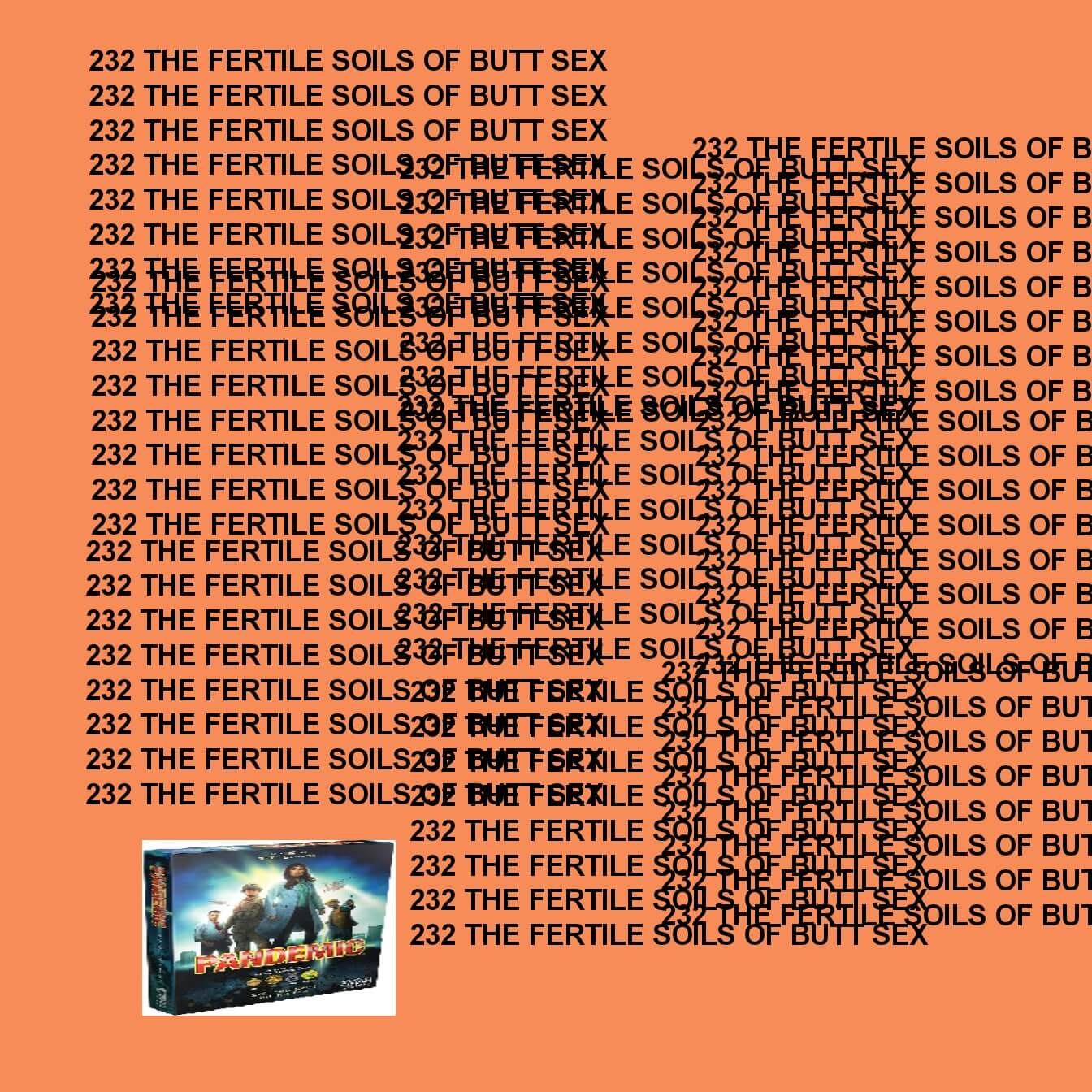 GTST Episode 232: The Fertile Soils of Buttsex