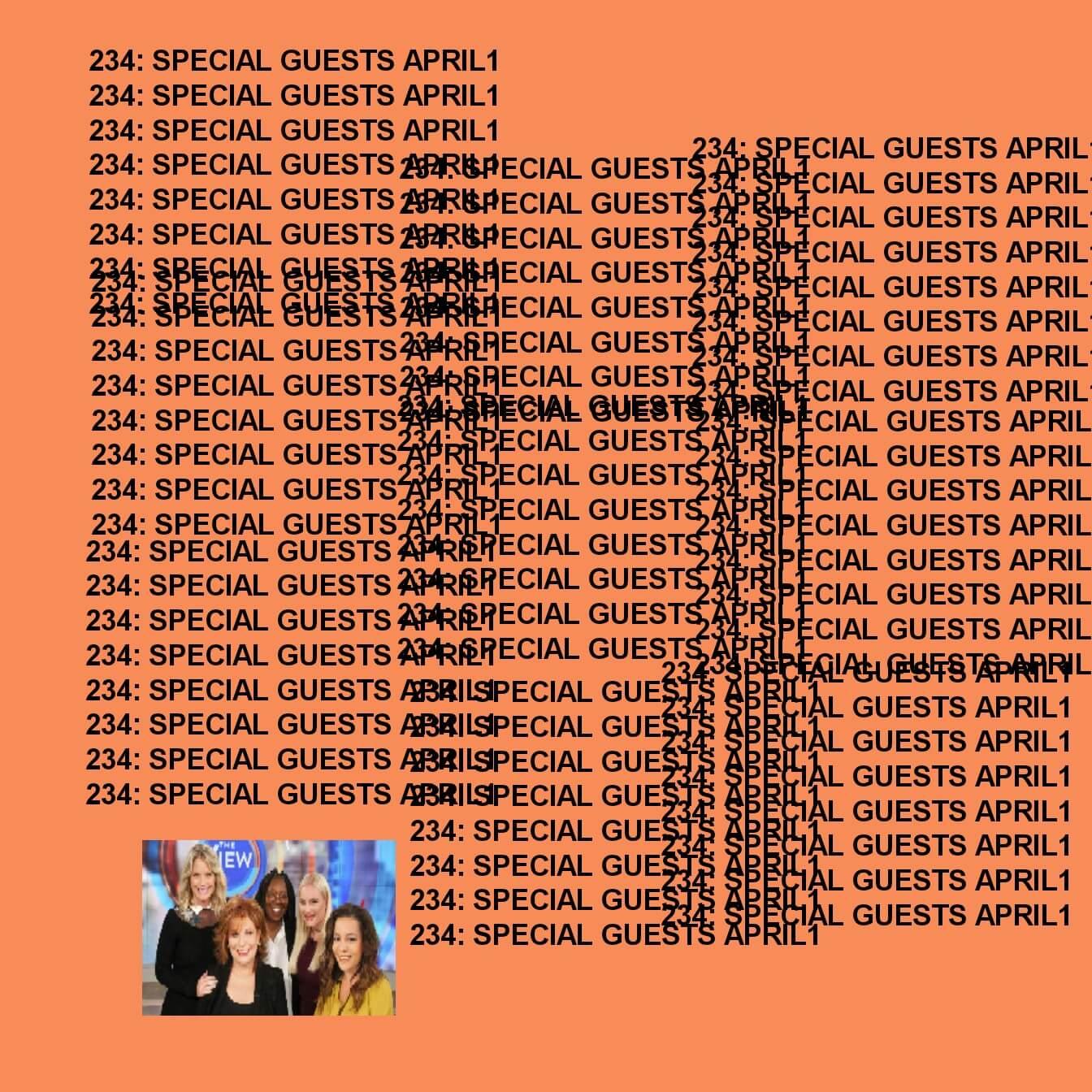 GTST Episode 234: Special Guests (April 1st Edition)